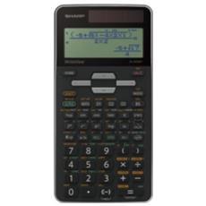 Calcolatrice Scientifica LCD 16 Cifre Colore Argento
