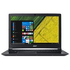 "Notebook Aspire 7 A715-71G-52SK Monitor 15.6"" Full HD Intel Core i5-7300HQ Quad Core Ram 8GB Hard Disk 1TB 1xUSB 3.0 1xUSB 3.1 Windows 10 Home"