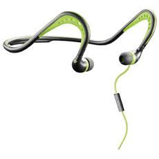 Auricolari Neckband In-Ear con Filo Sport Scorpion Colore Verde / Nero