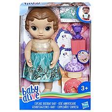 Hasbro E0597es1compleanno Divertimento Del Bambino (braunh Aarig), Bambola