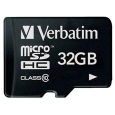MicroSDCH 32GB Class 10+ Adattatore