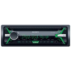 Sintolettore CD MEXXB100BT Potenza 4x100W Supporto AAC / FLAC / MP3 / WAV / WMA Nero
