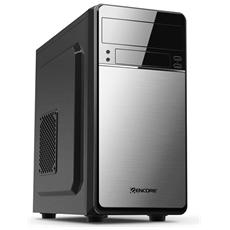 Case PC Middle Tower Micro-ATX 2 Porte USB 2.0 Colore Grigio