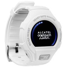 "Smartwatch Go Watch Waterproof Impermeabile 1,22"" IPS Bluetooth Cardio-sensore per Android e iOS - Bianco RICONDIZIONATO"