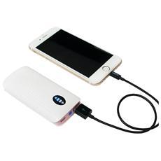 PA0126P, Ioni di Litio, USB, Rosa, Bianco, USB, Universale, Sovraccarico, Overcharge, Cortocircuito