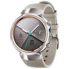 """Smartwatch ZenWatch 3 Resistente all'acqua IP67 Display 1.39"""" 4GB con Bluetooth e Wi-Fi Argento - Italia"""