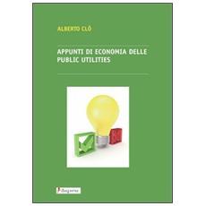 Appunti di economia delle public utilities