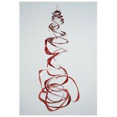 Spirale Decorativa Lunghezza 2 m Colore Rosso