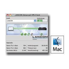 Advanced VPN Client, Mac OS 10.6/10.5, DEU, ENG