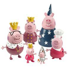 Peppa Pig La Famiglia Reale 6 Personaggi
