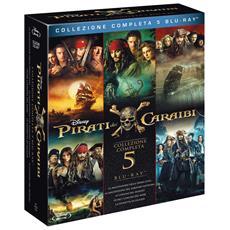 Pirati Dei Caraibi Collection 1-5 (5 Blu-Ray)