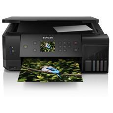 Stampante Multifunzione EcoTank ET-7700 Inkjet a Colori Stampa Copia Scansione 32 ppm Wi-Fi USB