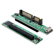 61987 SATA 22p IDE 44p Nero, Verde cavo di interfaccia e adattatore