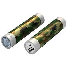 STIK22-ARMY1, Ioni di Litio, USB, Multicolore, Universale