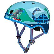 Scootersaurus Monopattino Multicolore casco protettivo