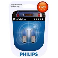 Lamp. 12v - H6w Bluevision