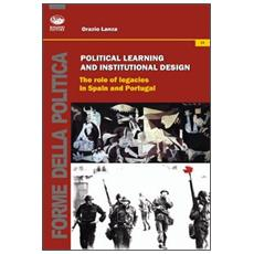 Political learning and institutional design. The role of legacies in Spain and portugal