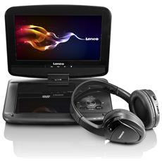 """DVP-937, LCD, 22,86 cm (9"""") , 640 x 234 Pixels, 2W, MPEG4, MP3, WMA"""