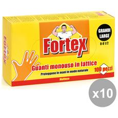Set 10 X 100 Lattice L Fortex Giardinaggio