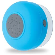 Speaker Portatile con Bluetooth Impermeabile Colore Azzurro