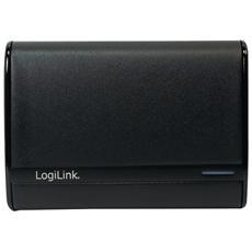 PA0127B, Ioni di Litio, USB, Nero, USB, Universale, Over current, Over power, Sovraccarico, Overcharge, Cortocircuito