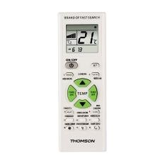 ROC1205, IR Wireless, Pulsanti, Bianco, Aria condizionata, , Plastica