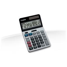Calcolatrice da Tavolo con Batteria CR2016 Argento Plastica 9405B001