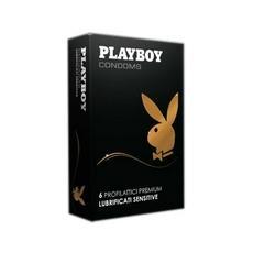Playboy 6 Profilattici Lubrificati Sensitive