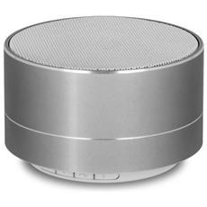 Speaker Portatile con Bluetooth Colore Argento