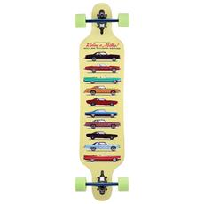 """Longboard Collection 41"""""""" S01lb0045 Skateboard Tipo Longboard Completo - Componenti Di Alta Qualità"""