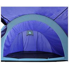 Tenda da Campeggio Impermeabile 4 Persone Blu Navy / Azzurro
