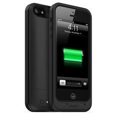 mophie juice pack air per iPhone SE, 5/5s - nero