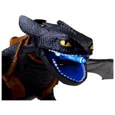 Azione Dragons Sdentato Strike Night Colore Nero e Blu