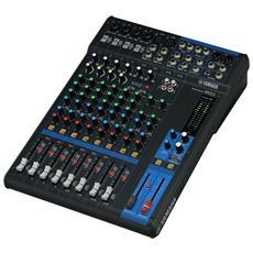 Mixer Analogico per DJ Nera e Antracite 22 W 192 kHz CMG12