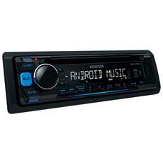 Sintolettore CD KDC-100UB Potenza 4 x 50 W Supporto MP3 / WMA / WAV / FLAC Nero
