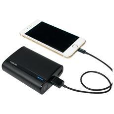 PA0127W, Ioni di Litio, USB, Nero, Bianco, USB, Universale, Over current, Over power, Sovraccarico, Overcharge, Cortocircuito