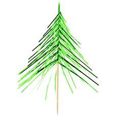 Stecchini Decorativi In Stile Albero Di Natale Taglia Unica