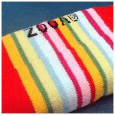 mobile sock '' arcobaleno - [ c5692]