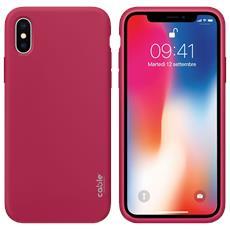 Ivelvet Rose Red For Iphone X, Custodia Case Cover Apple Iphone X Protezione E Design, Materiali Di Alta Qualità, Silicone Liquido Piacevole A Tatto Resistente A Urti