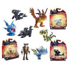 Personaggi Assortiti d'Azione Mini Dragons