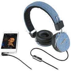 Cuffie Hi-Deejay On-Ear con Control Talk Colore Blu