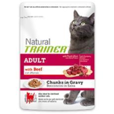 Cibo per gatti Bocconcini in salsa Adult con Manzo 85 gr