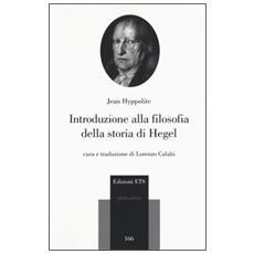 Introduzione alla filosofia della storia di Hegel