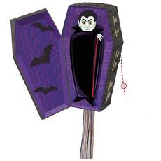 Pignatta A Forma Di Bara Da Vampiro Per Halloween Taglia Unica