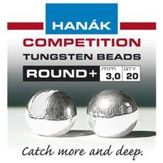 Testine Tungsten Bead Round 4 Grigio