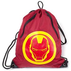 Marvel: Iron Man Rubber Print Red (borsa Da Ginnastica)