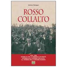 Rosso Collalto (1918-192) . Storie di vita, di musica e di morte intorno alla vicenda Collalto, al termine della grande guerra