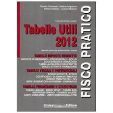 Tabelle utili 2012. Manuale pratico per professionisti e aziende