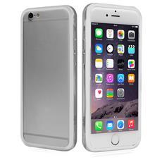 Cover Bumper In Pvc Trasparente, Colore Bianco Per Iphone 6 4,7