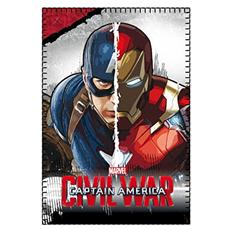Captain America Civil War Fleece Blanket Captain America E Iron Man 100 X 150 Cm